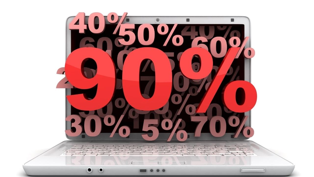 9割、90%の画像