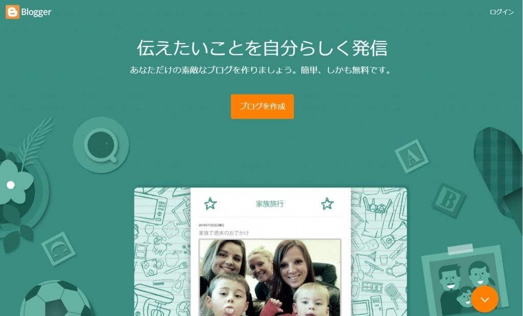 Bloggerの画像