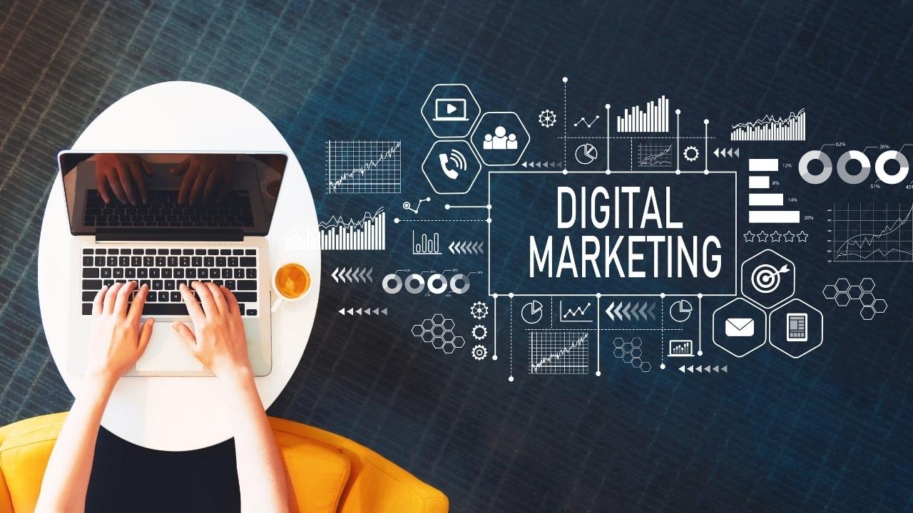 デジタルマーケティングの画像